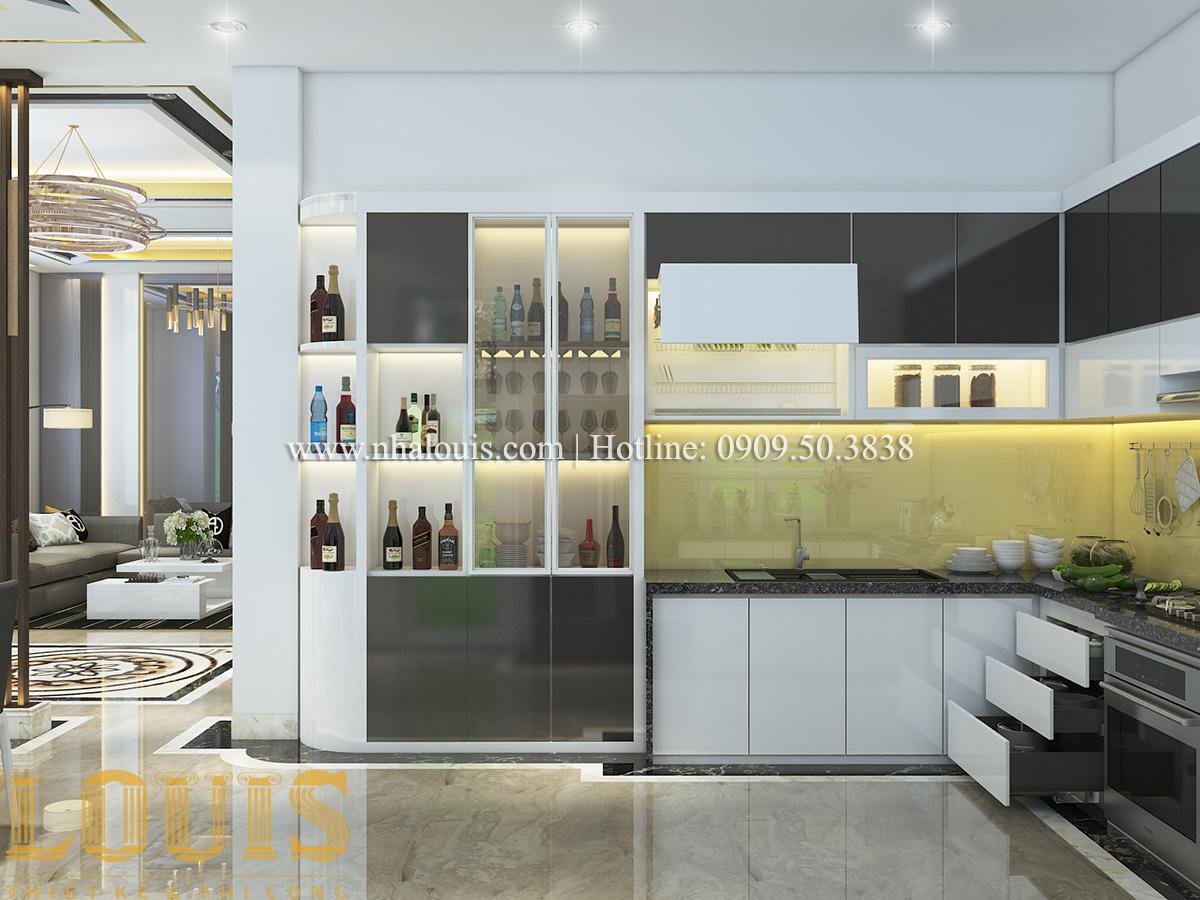 Bếp và phòng ăn Mẫu biệt thự tân cổ điển đẹp thời thượng tại Vũng Tàu - 09