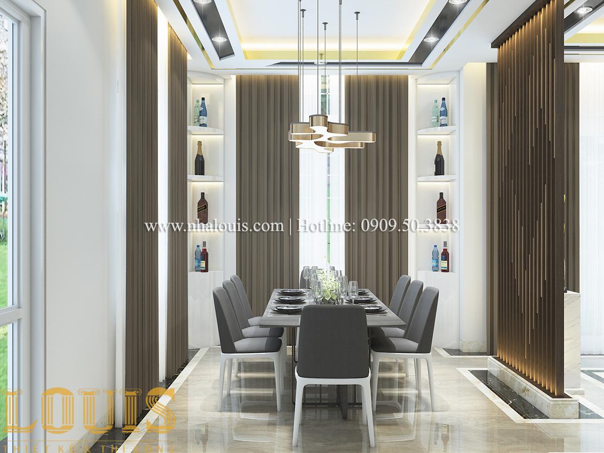 Bếp và phòng ăn Mẫu biệt thự tân cổ điển đẹp thời thượng tại Vũng Tàu - 10