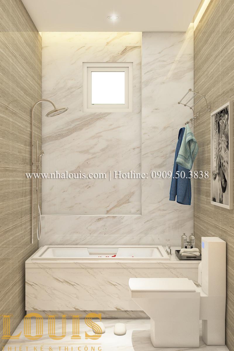 Phòng tắm và WC Mẫu biệt thự tân cổ điển đẹp thời thượng tại Vũng Tàu - 11