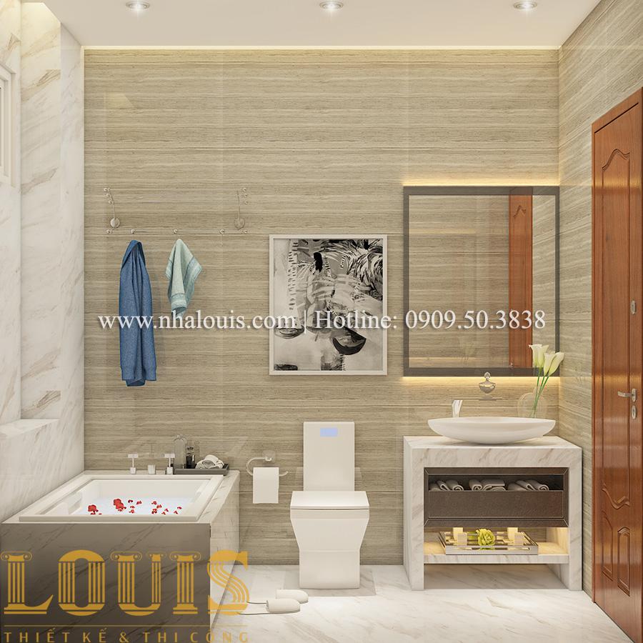 Phòng tắm và WC Mẫu biệt thự tân cổ điển đẹp thời thượng tại Vũng Tàu - 12