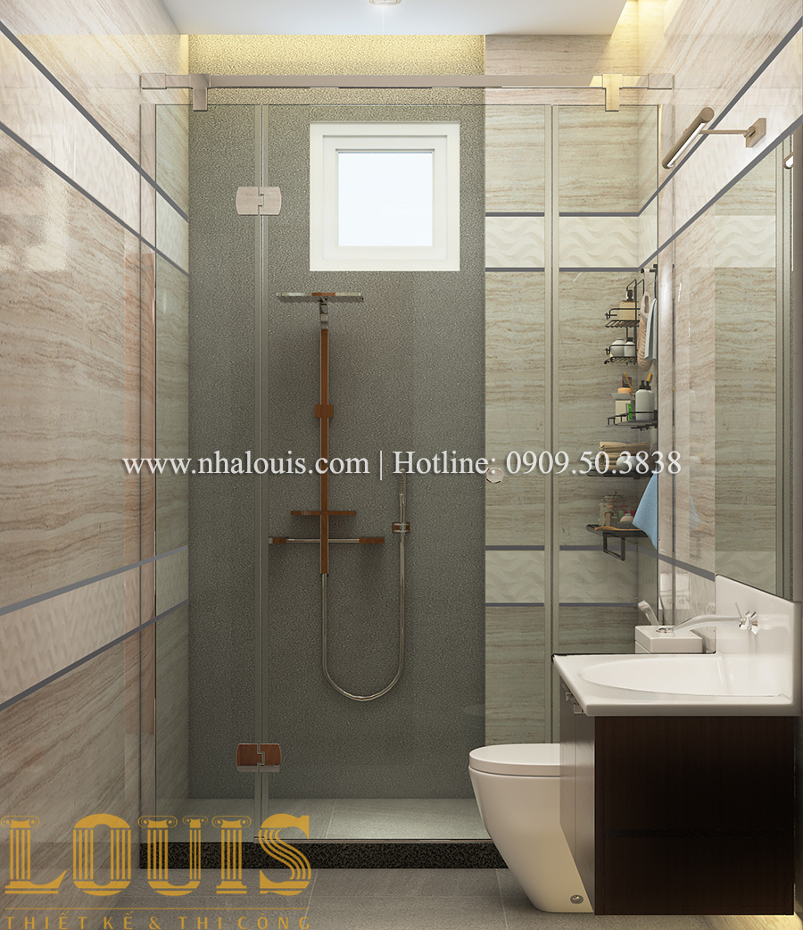 Phòng tắm và WC Mẫu biệt thự tân cổ điển đẹp thời thượng tại Vũng Tàu - 20