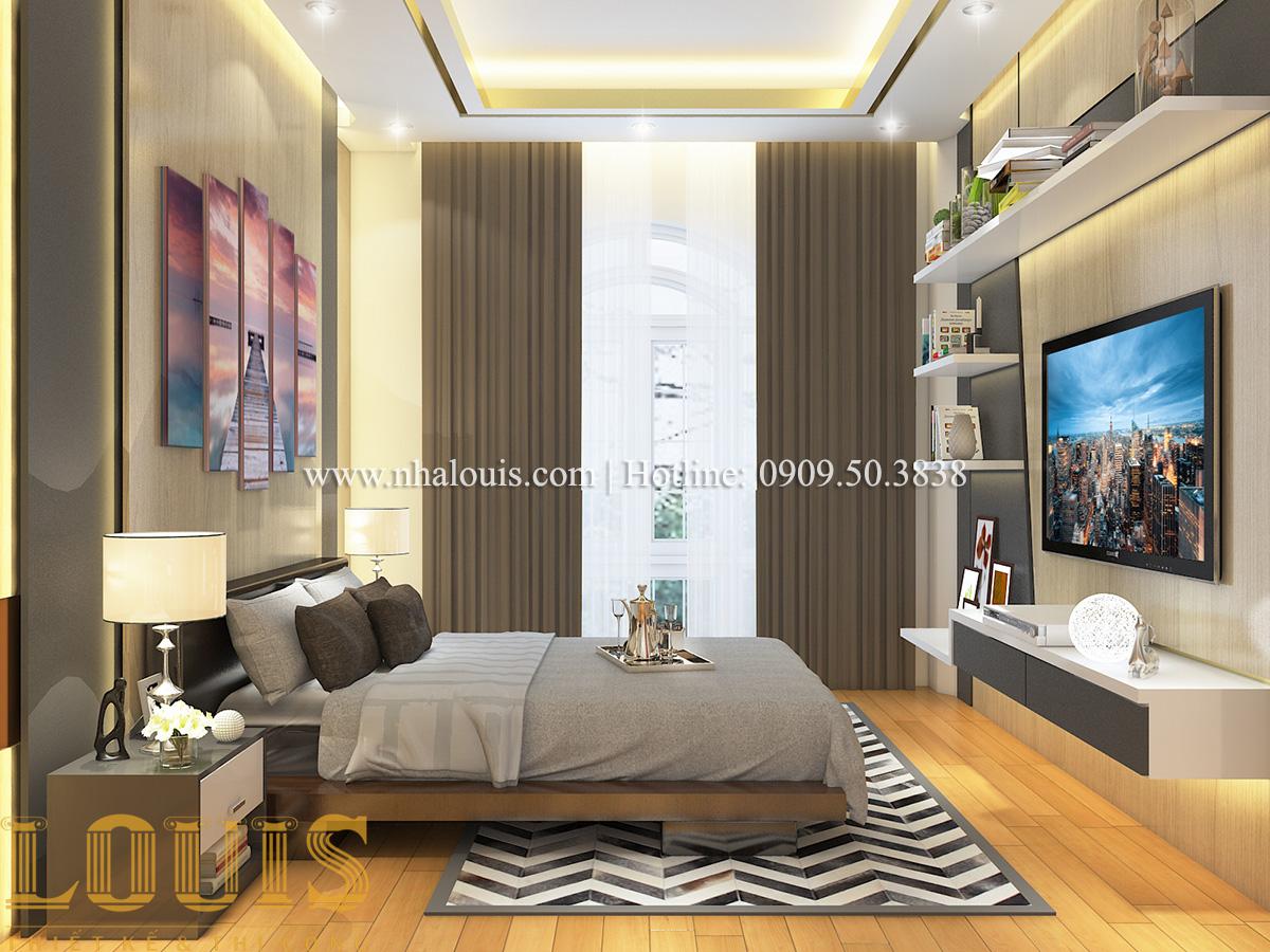 Phòng ngủ Mẫu biệt thự tân cổ điển đẹp thời thượng tại Vũng Tàu - 31