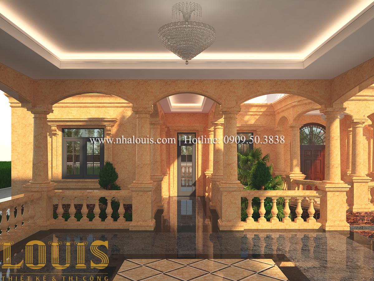 Sảnh Mẫu biệt thự vườn 3 tầng theo phong cách Ả Rập độc đáo ở Tiền Giang - 09