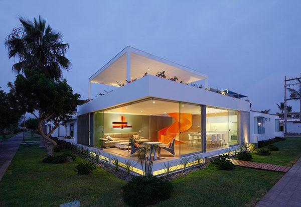 Ngôi nhà không gian mở tuyệt đẹp ở Peru
