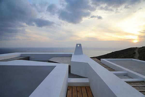 Thăm thú căn biệt thự biển tuyệt đẹp ở Hy lạp