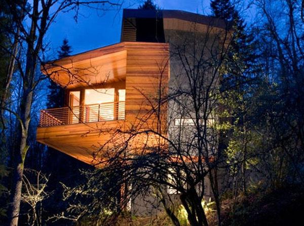 Chiêm ngưỡng căn biệt thự vườn hiện đại trong phim Twilight