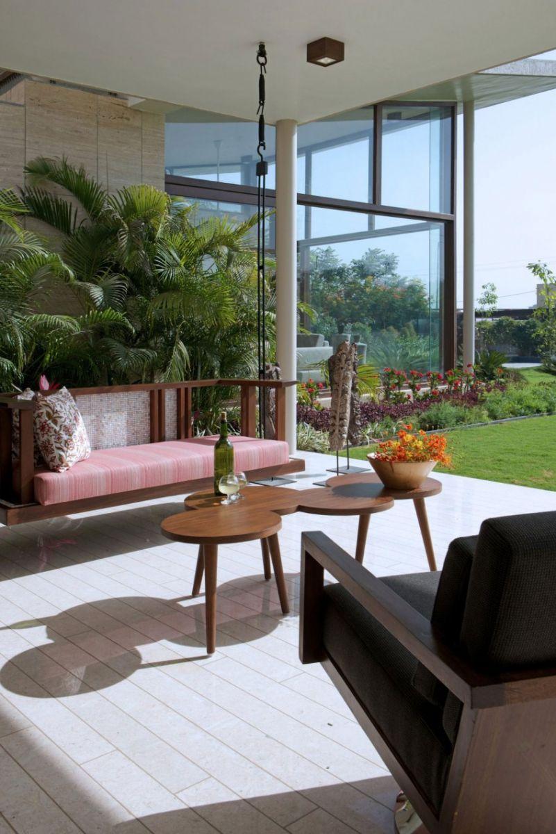 Cùng chiêm ngưỡng biệt thự vườn hiện đại đẹp theo phong cách mở tại Ấn Độ