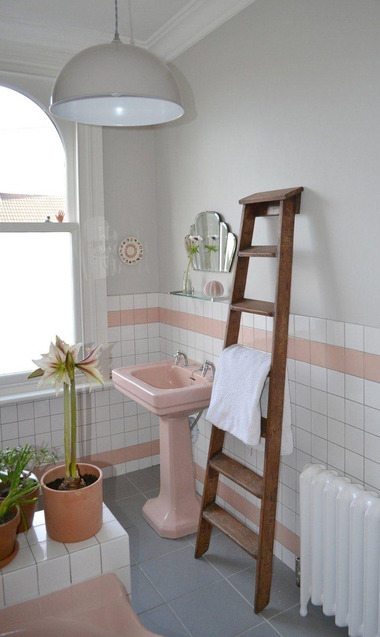 Gợi ý thiết kế nội thất nhà tắm biệt thự với tông màu hồng