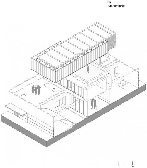 Khám phá căn biệt thự hiện đại như những khối container ở Mexico