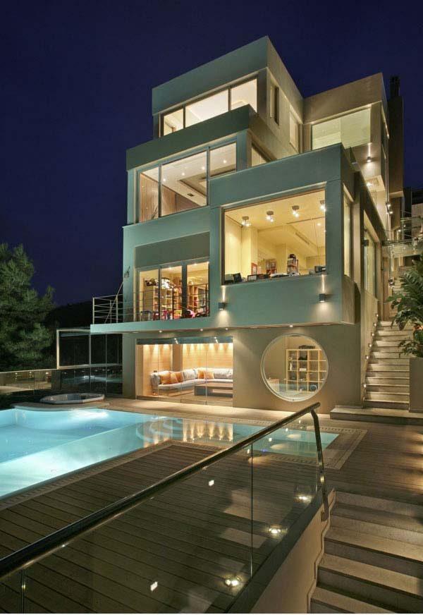 Thiết kế biệt thự hiện đại siêu đẹp theo phong cách hướng đến tương lai