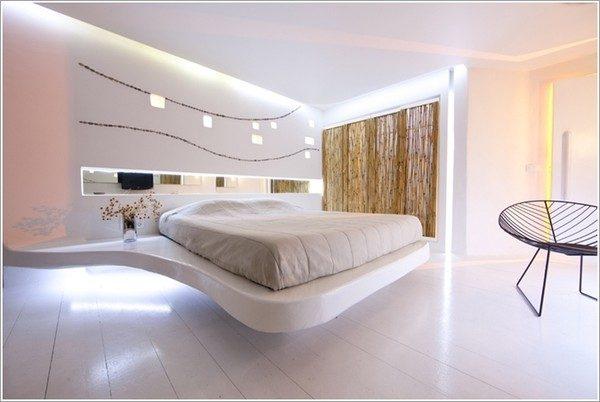 Thiết kế nội thất phòng ngủ theo phong cách futuristic