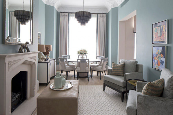 Trang trí nội thất phong cách cổ điển cho biệt thự