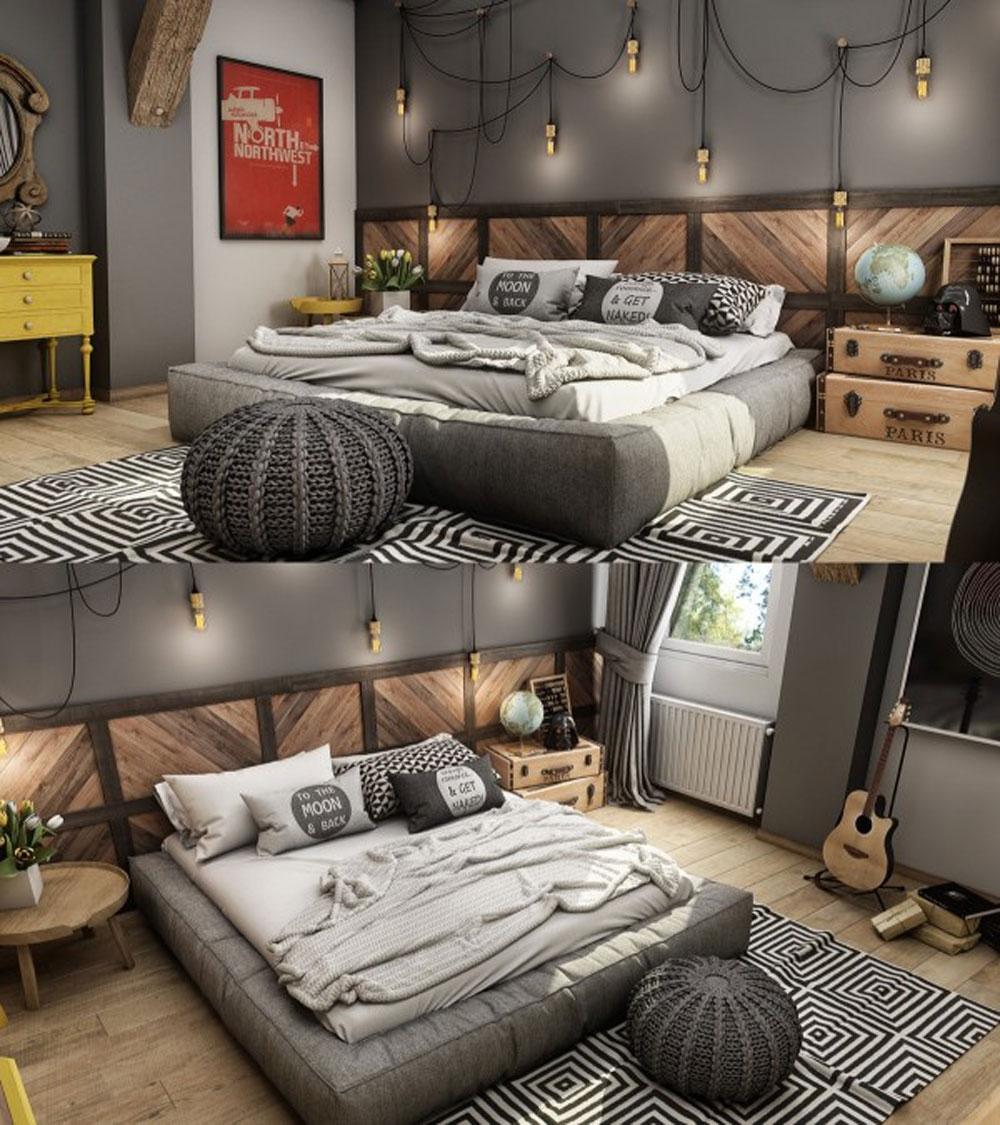 Những phòng ngủ đẹp và rộng thoáng dành cho biệt thự