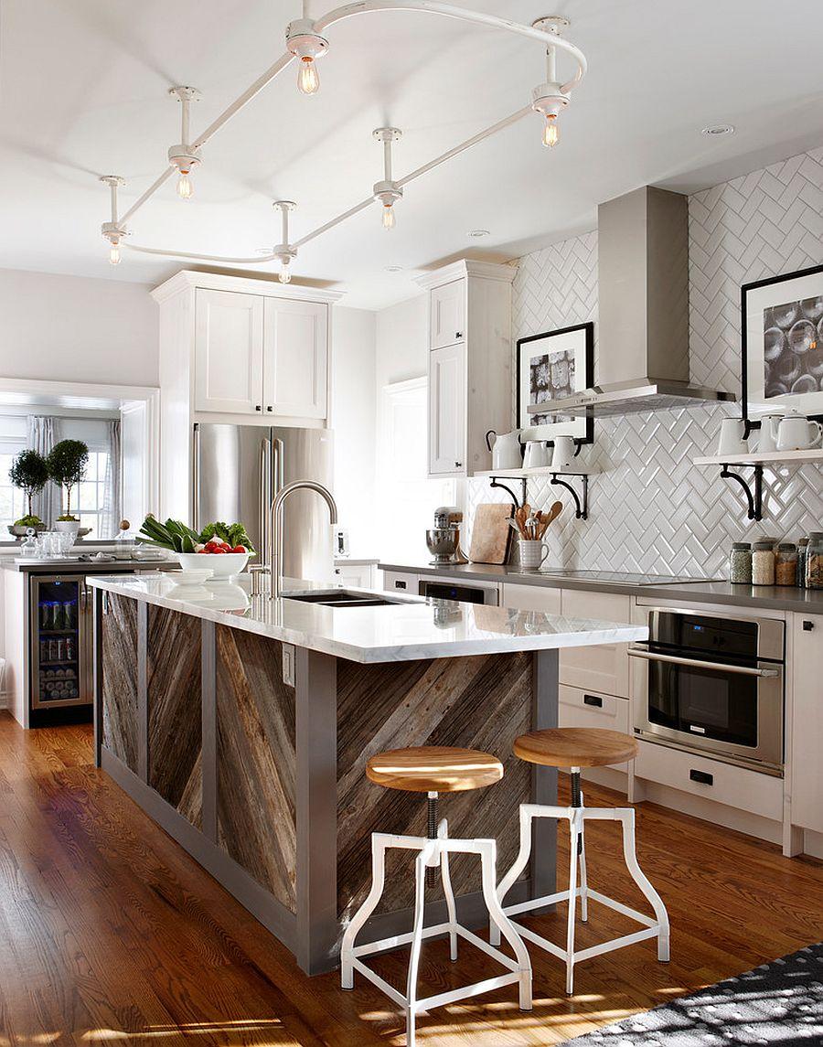 Những thiết kế phòng bếp mộc mạc đốn ngã trái tim bà nội trợ