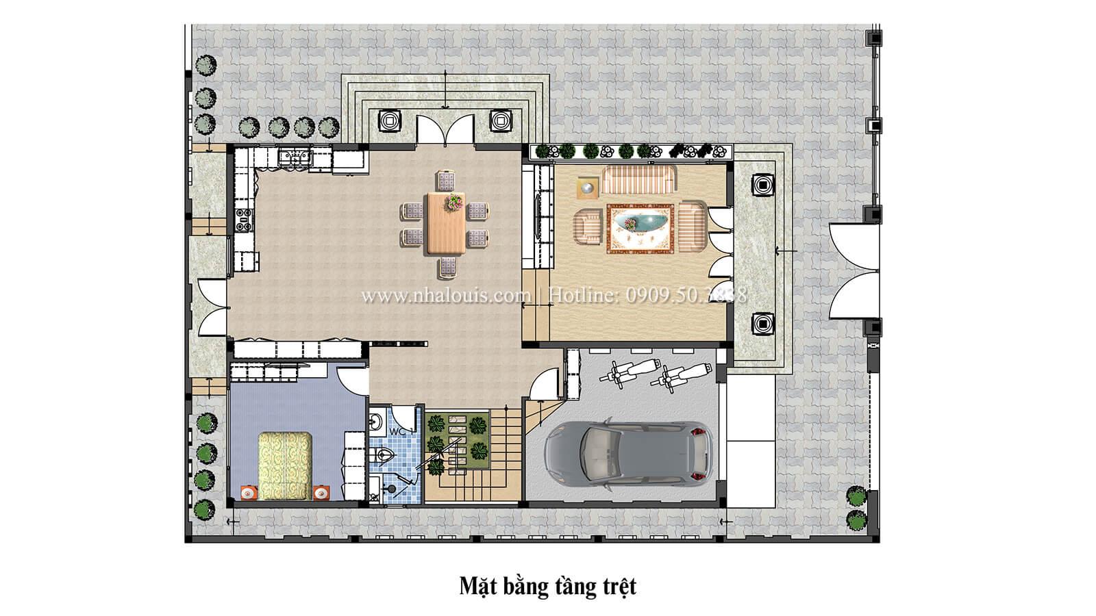 Biệt thự 1 trệt 1 lầu hiện đại và đẳng cấp tại Long Thành - 04