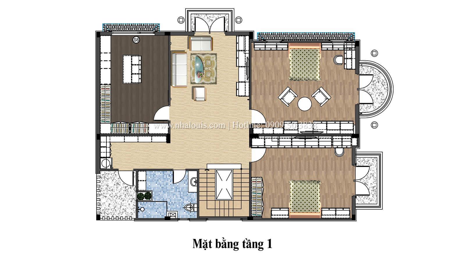 Biệt thự 1 trệt 1 lầu hiện đại và đẳng cấp tại Long Thành - 23