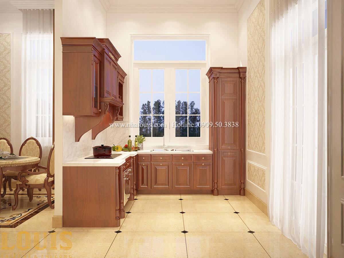 Phòng bếp Biệt thự 2 tầng cổ điển chuẩn sang trọng tại Hóc Môn - 14