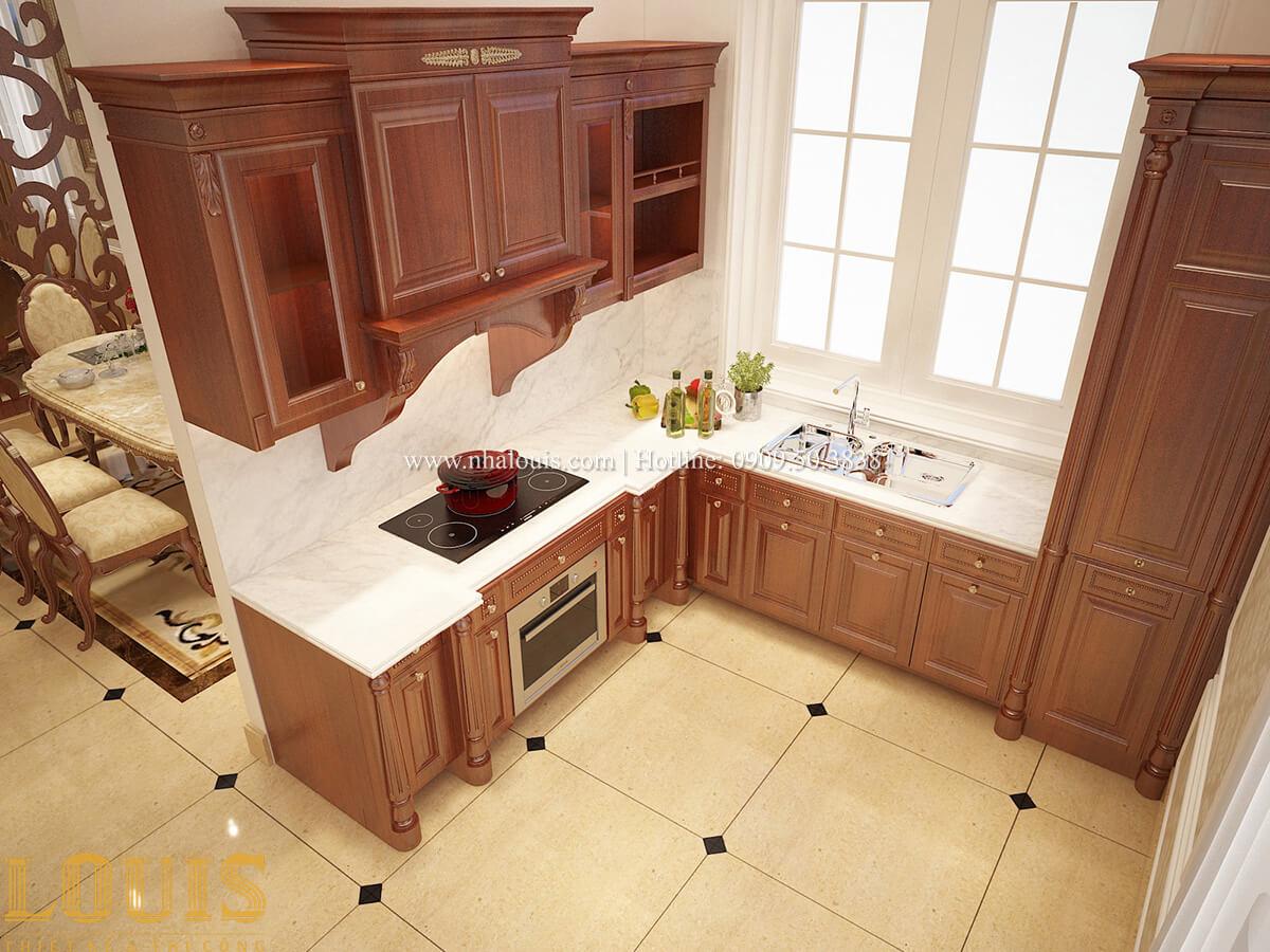 Phòng bếp Biệt thự 2 tầng cổ điển chuẩn sang trọng tại Hóc Môn - 15