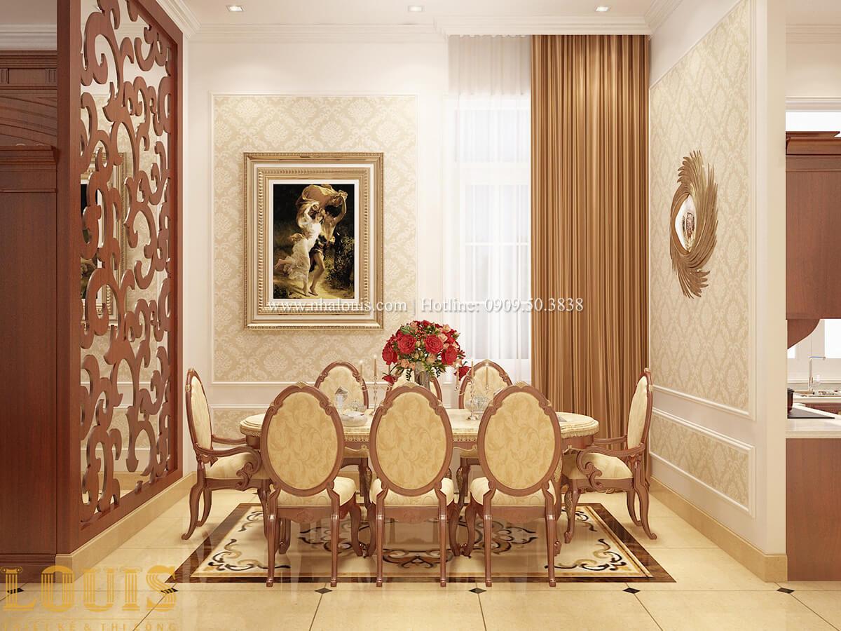 Phòng ăn Biệt thự 2 tầng cổ điển chuẩn sang trọng tại Hóc Môn - 16