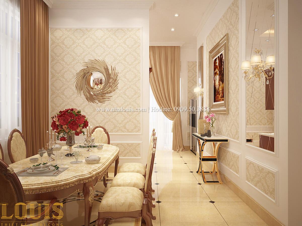 Phòng ăn Biệt thự 2 tầng cổ điển chuẩn sang trọng tại Hóc Môn - 18