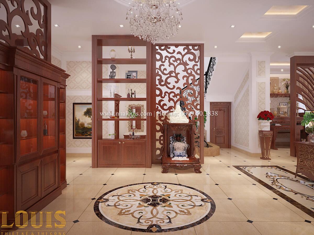 Phòng khách Biệt thự 2 tầng cổ điển chuẩn sang trọng tại Hóc Môn - 20
