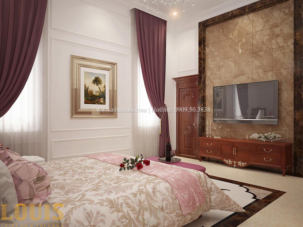 Phòng ngủ Biệt thự 2 tầng cổ điển chuẩn sang trọng tại Hóc Môn - 23