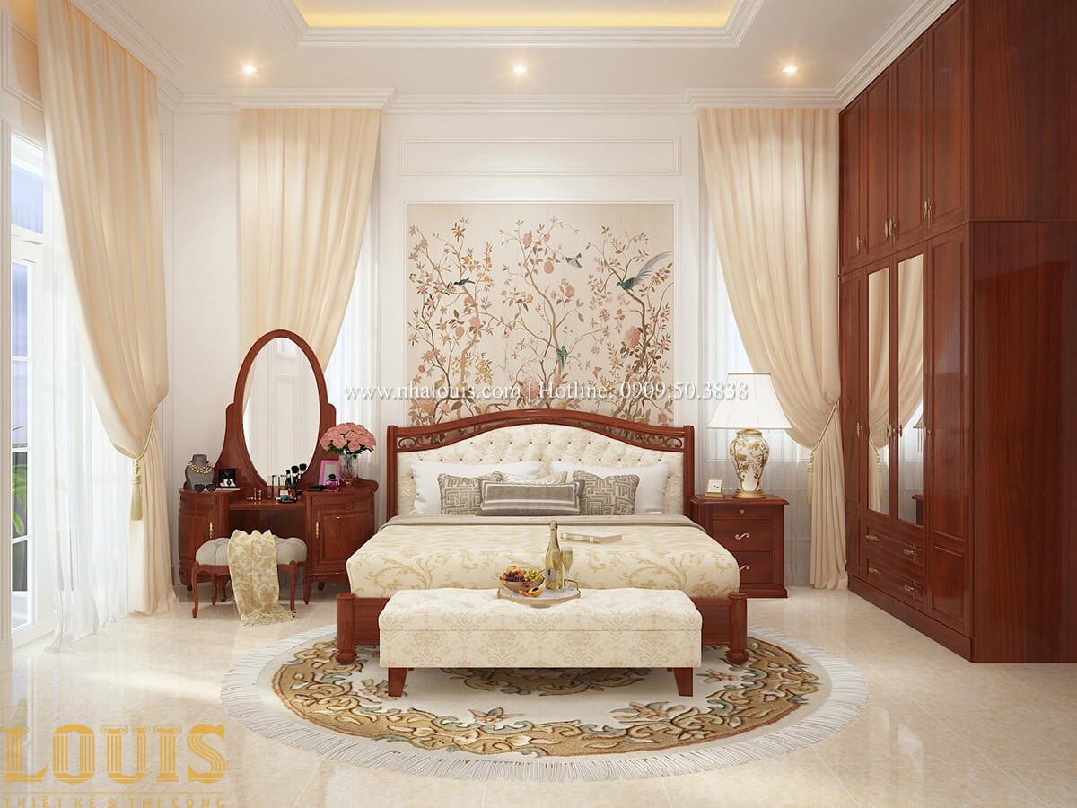 Phòng ngủ Biệt thự 2 tầng cổ điển chuẩn sang trọng tại Hóc Môn - 28