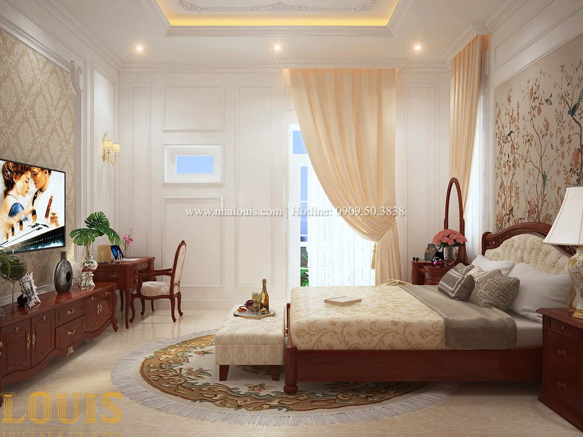 Phòng ngủ Biệt thự 2 tầng cổ điển chuẩn sang trọng tại Hóc Môn - 29