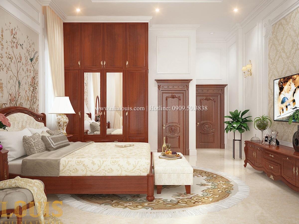 Phòng ngủ Biệt thự 2 tầng cổ điển chuẩn sang trọng tại Hóc Môn - 30