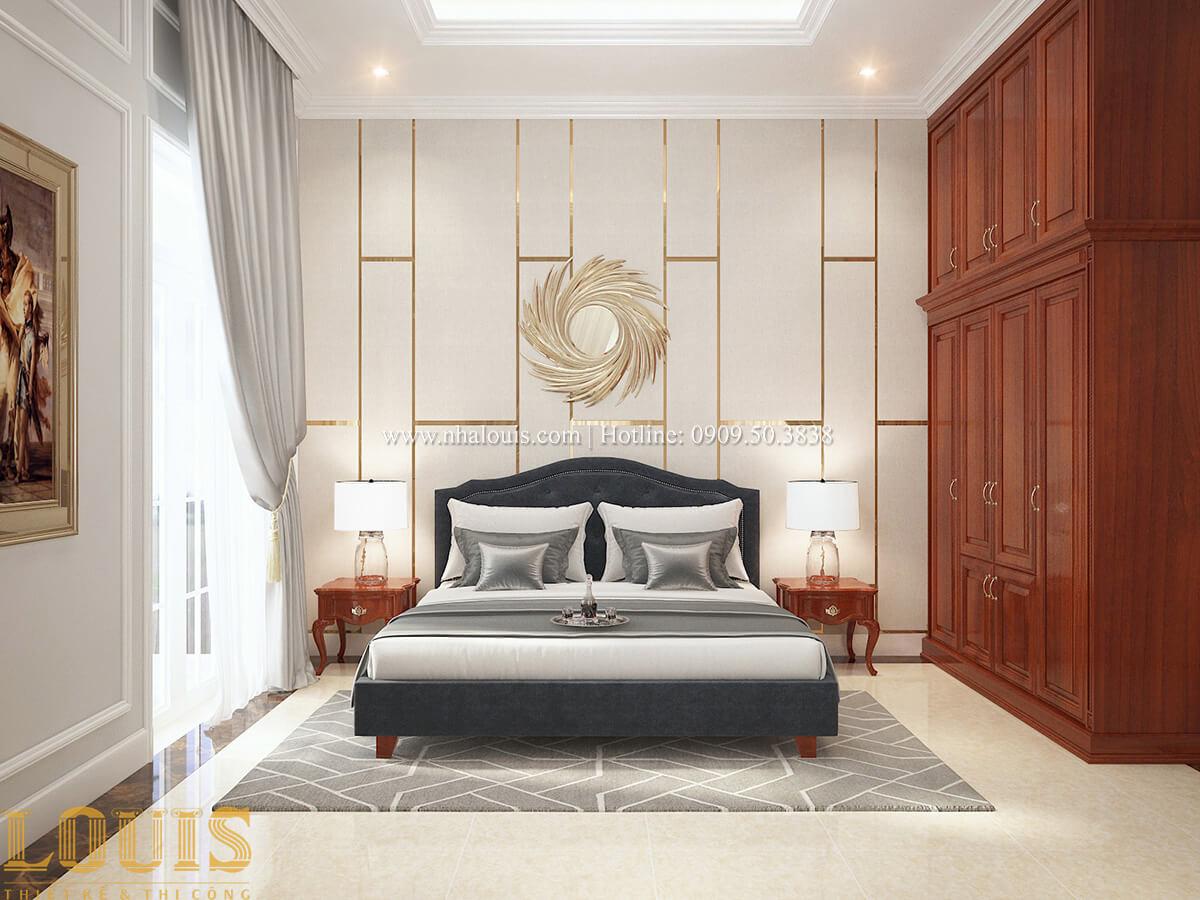 Phòng ngủ Biệt thự 2 tầng cổ điển chuẩn sang trọng tại Hóc Môn - 31