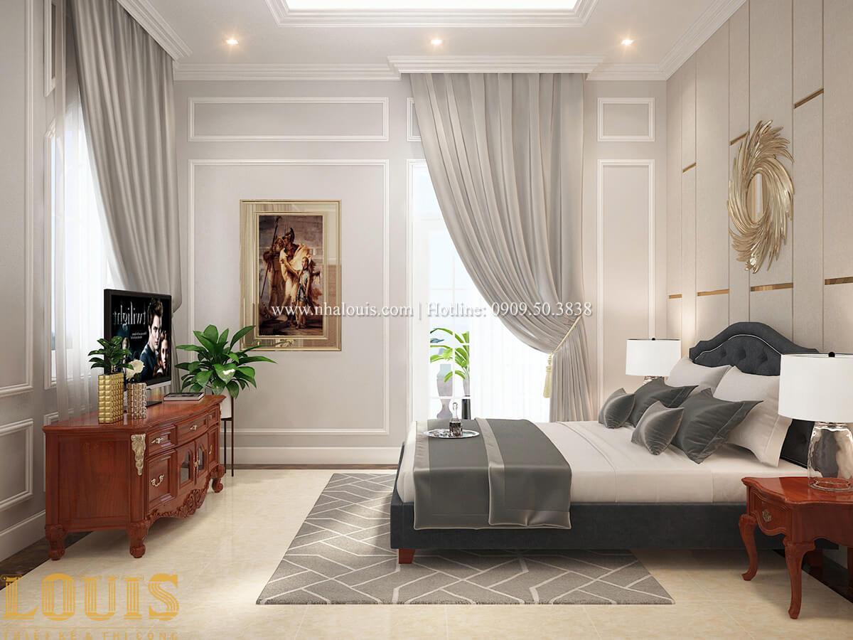 Phòng ngủ Biệt thự 2 tầng cổ điển chuẩn sang trọng tại Hóc Môn - 32