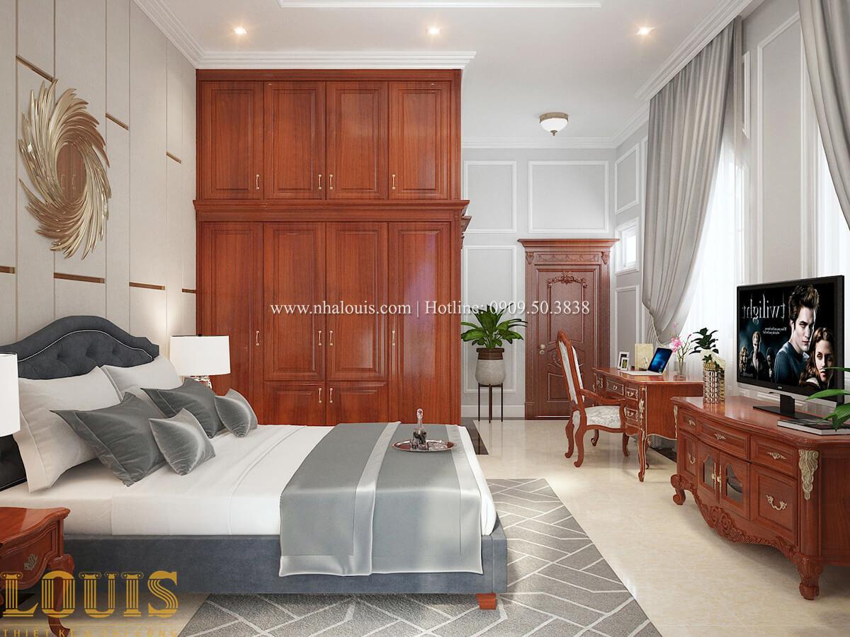 Phòng ngủ Biệt thự 2 tầng cổ điển chuẩn sang trọng tại Hóc Môn - 33