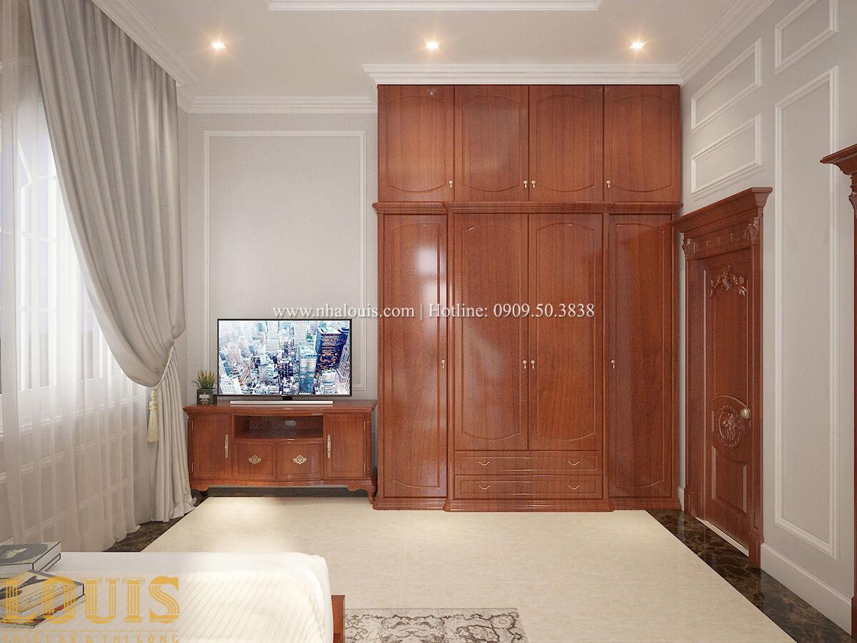 Phòng ngủ Biệt thự 2 tầng cổ điển chuẩn sang trọng tại Hóc Môn - 35