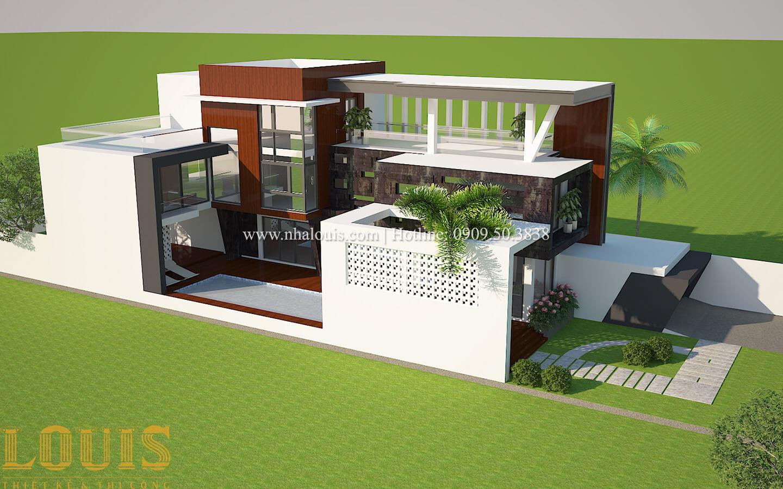 Thiết kế mẫu biệt thự 3 tầng hiện đại cực chất tại Quận 12 - 04