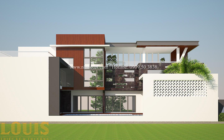 Thiết kế mẫu biệt thự 3 tầng hiện đại cực chất tại Quận 12 - 05