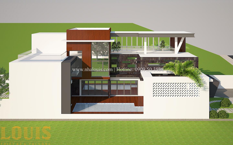 Thiết kế mẫu biệt thự 3 tầng hiện đại cực chất tại Quận 12 - 06