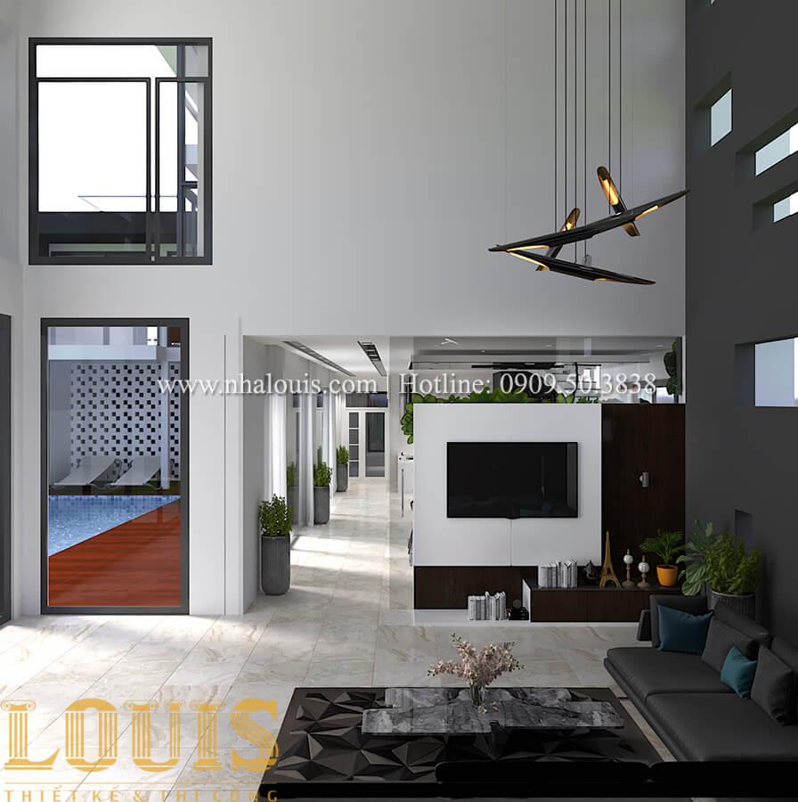 Thiết kế mẫu biệt thự 3 tầng hiện đại cực chất tại Quận 12 - 16