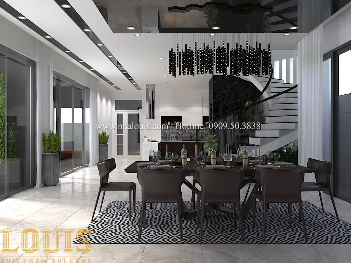 Thiết kế mẫu biệt thự 3 tầng hiện đại cực chất tại Quận 12 - 19