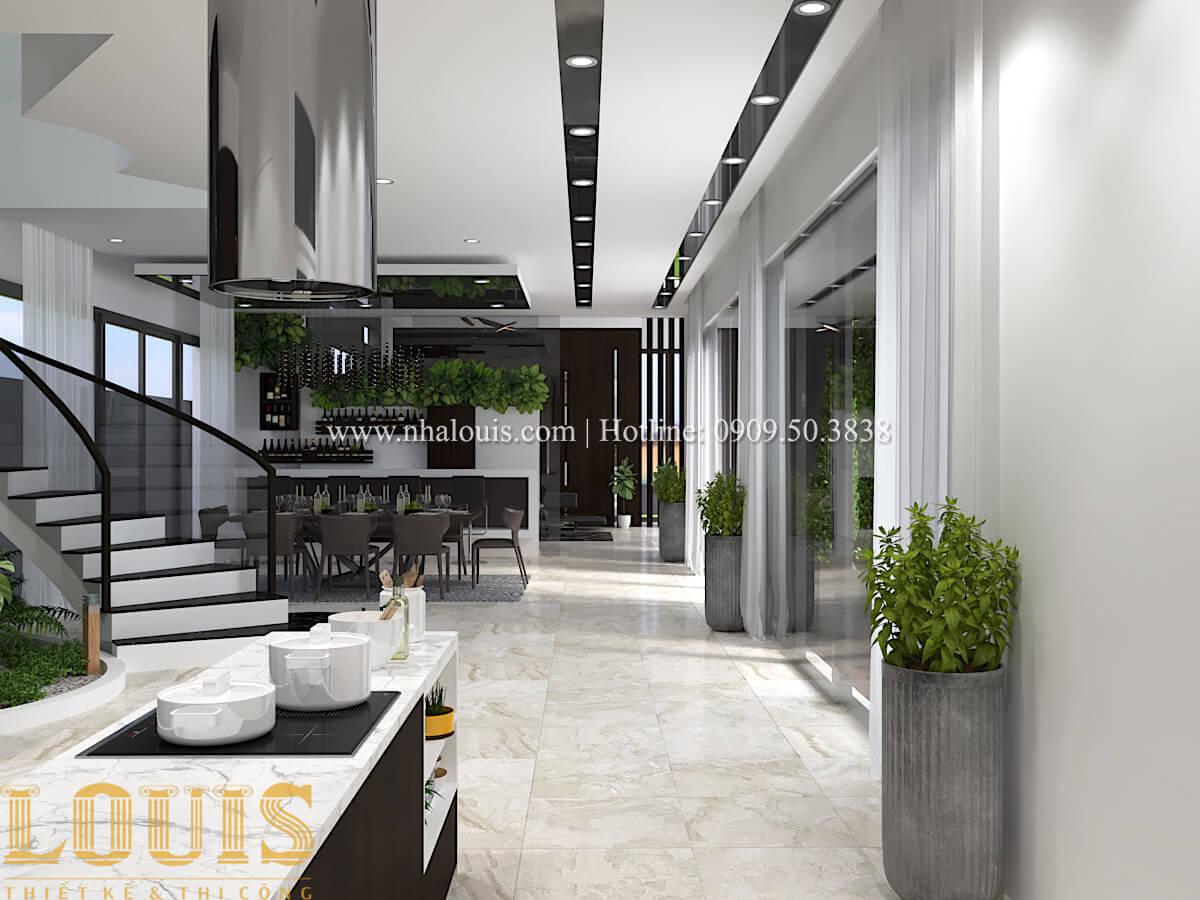 Thiết kế mẫu biệt thự 3 tầng hiện đại cực chất tại Quận 12 - 23