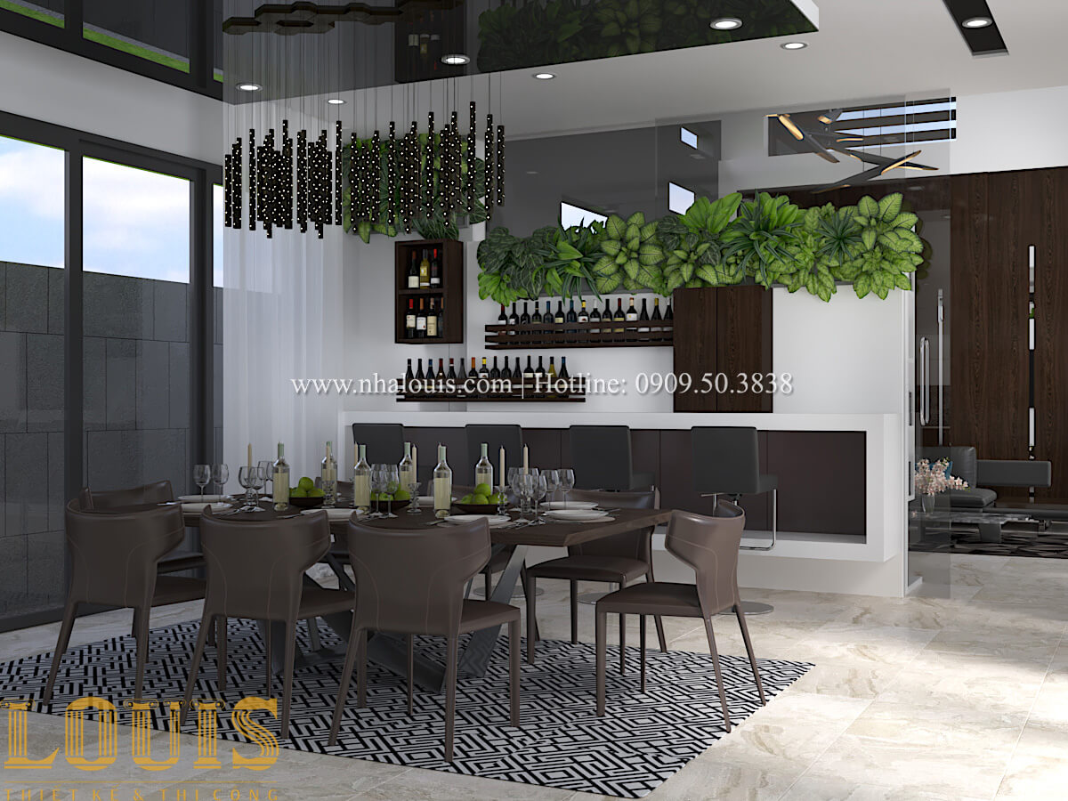 Thiết kế mẫu biệt thự 3 tầng hiện đại cực chất tại Quận 12 - 24