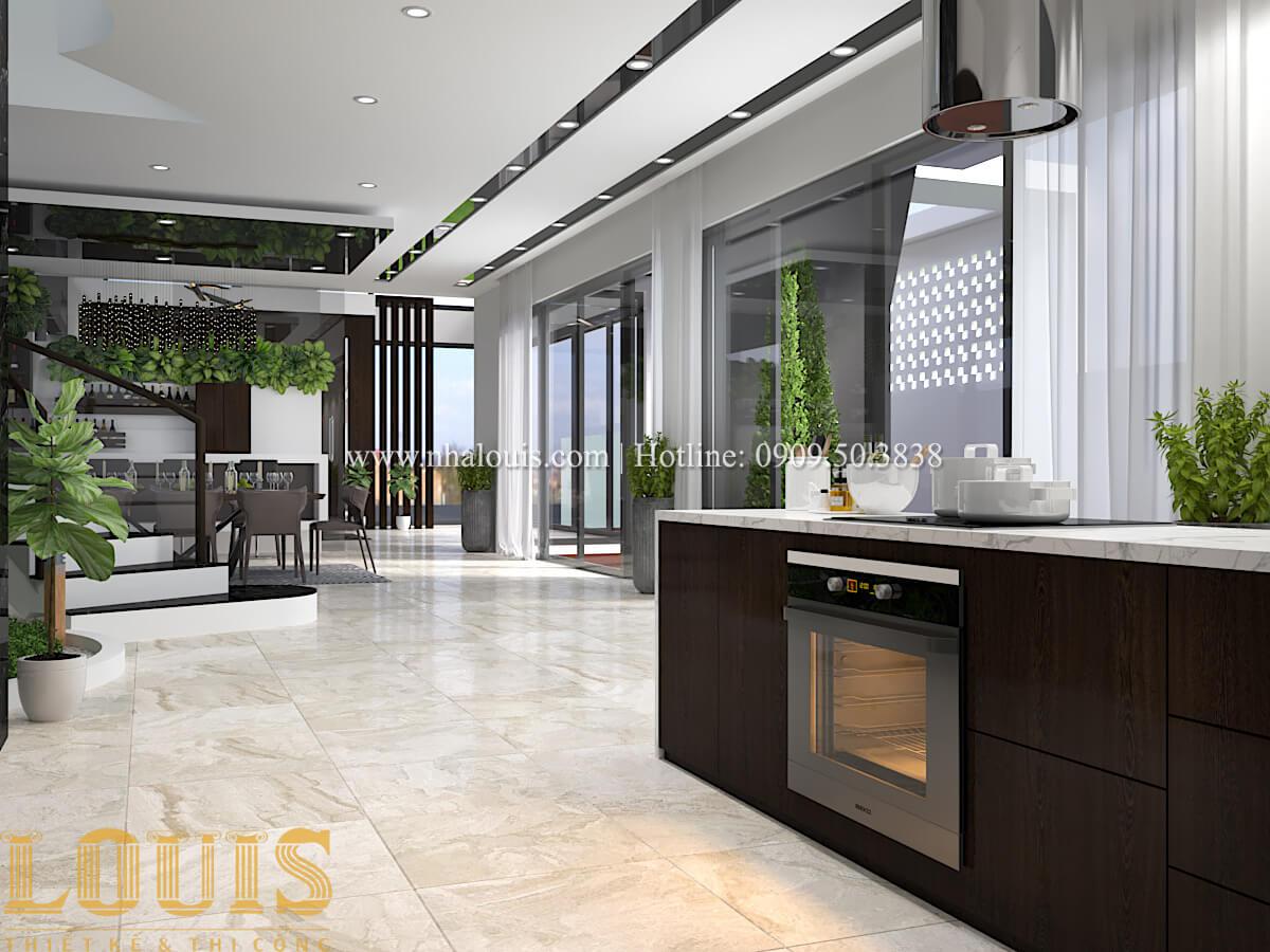 Thiết kế mẫu biệt thự 3 tầng hiện đại cực chất tại Quận 12 - 25