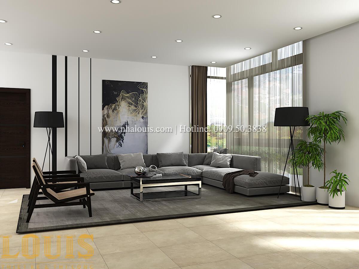 Thiết kế mẫu biệt thự 3 tầng hiện đại cực chất tại Quận 12 - 31