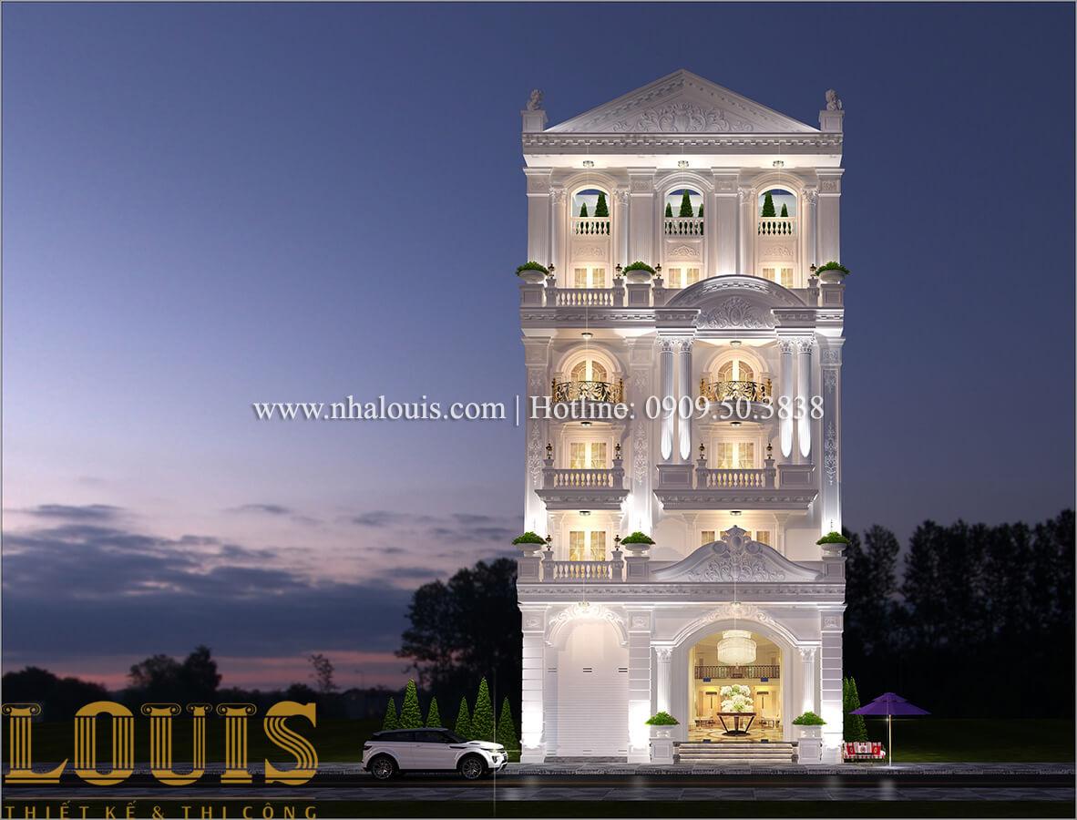 Mặt tiền Thiết kế sửa chữa nhà cũ thành biệt thự sang trọng tại Tân Phú - 03