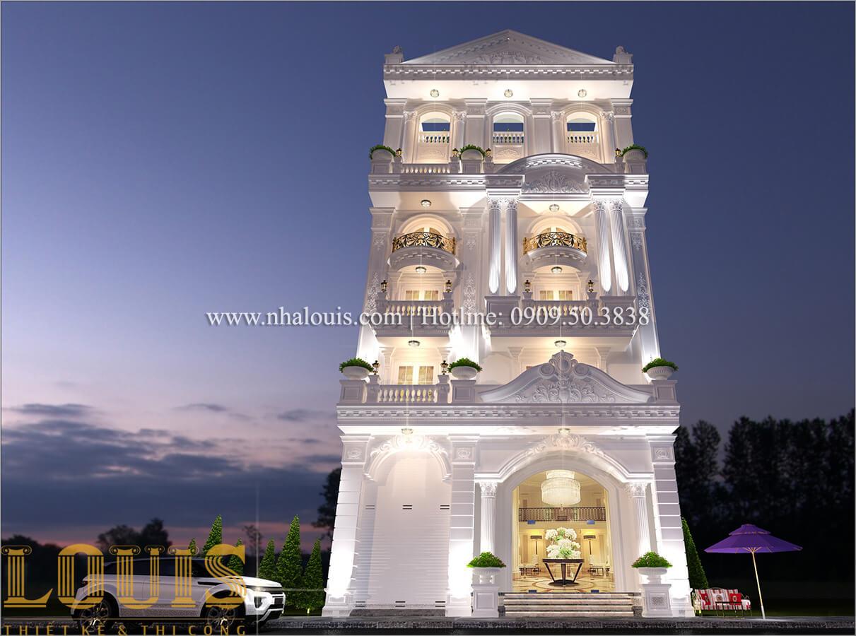 Mặt tiền Thiết kế sửa chữa nhà cũ thành biệt thự sang trọng tại Tân Phú - 04