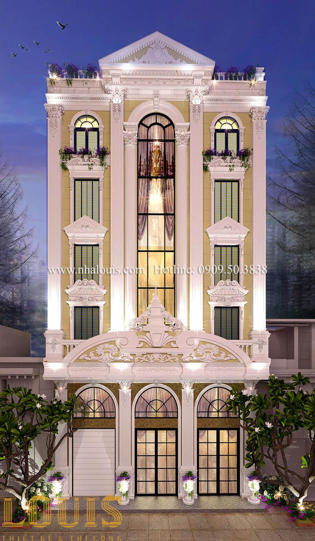 Mặt tiền Thiết kế sửa chữa nhà cũ thành biệt thự sang trọng tại Tân Phú - 05