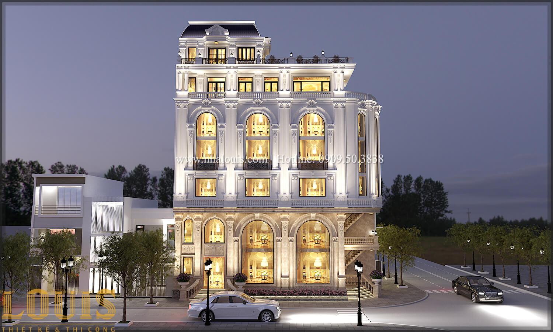 Mặt tiền Thiết kế văn phòng cho thuê đẹp lung linh tại Đà Nẵng - 02