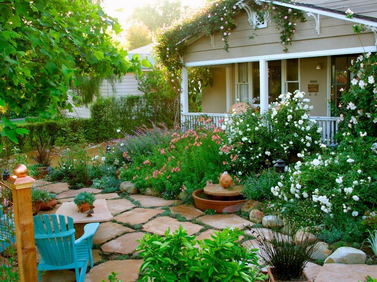 Lên ý tưởng thiết kế sân vườn đẹp cho người mới xây nhà 03