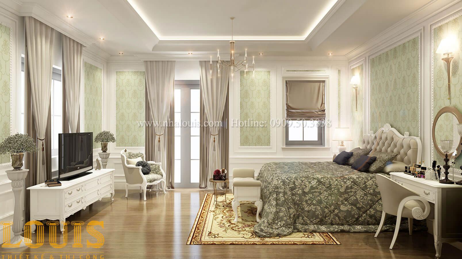 Thiết kế biệt thự 3 tầng đẹp hoành tráng lệ tại Đồng Nai