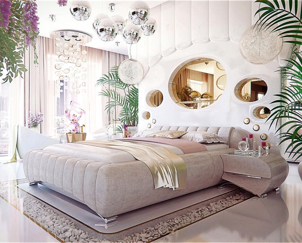 5 cách trang trí phòng ngủ lãng mạn cho vợ chồng mới cưới 05