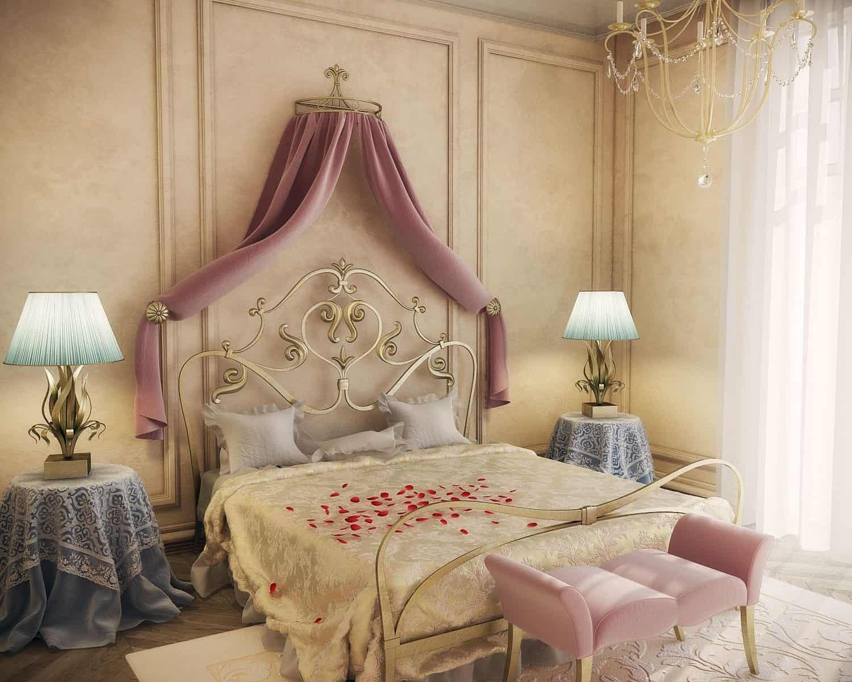 5 cách trang trí phòng ngủ lãng mạn cho vợ chồng mới cưới 06